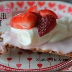 Strawberry Pretzel Pie ~ Day 9 #ValentinesDesserts