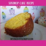 Sundrop Cake ~ Day 4 #ValentinesDesserts