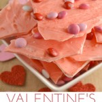 Valentine's Candy Bark ~ Day 8 #ValentinesDesserts