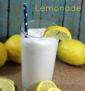 Just the sound of Frosted Lemonade sounds refreshing. School is just about out for the summer, and Memorial Day is right around the corner.
