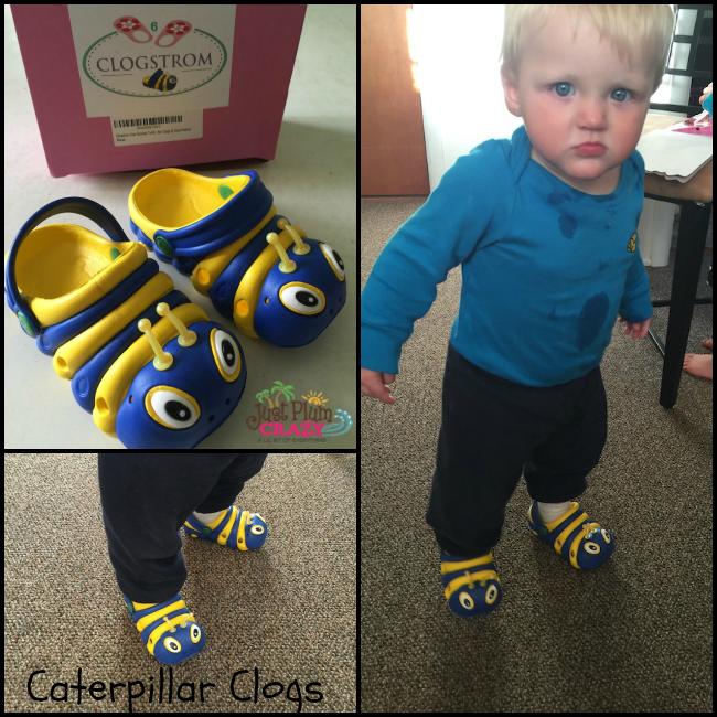 Animal clogs for toddler