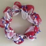 Patriotic Deco Mesh Wreath Tutorial