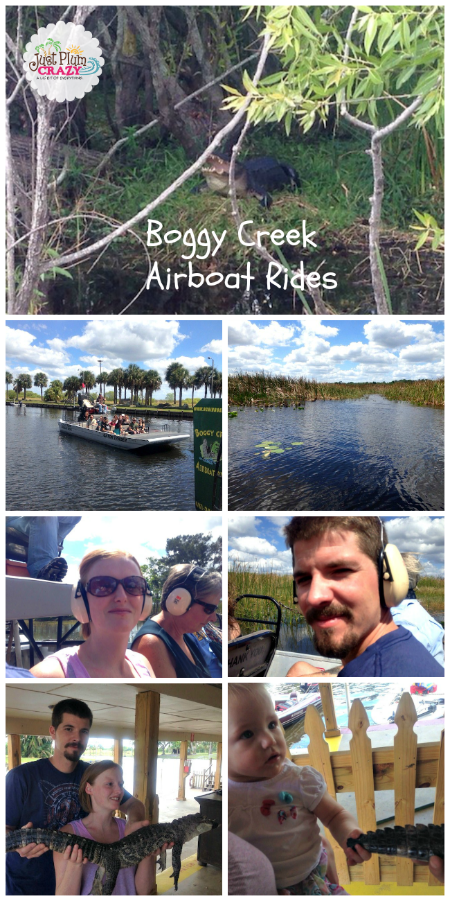 Take an Airboat Ride in Kissimmee, Florida | Just Plum Crazy
