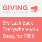 Earn Cash Back on Purchases with Giving Assistant!