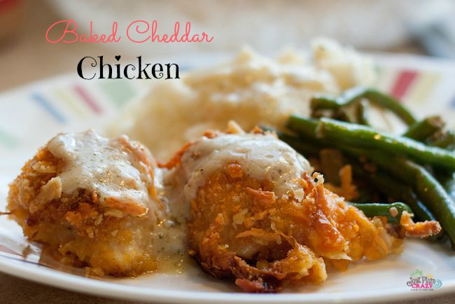 The Baked Cheddar Chicken is one recipe that my family really loves. I have been making this for a long time and it's one your family will love too.