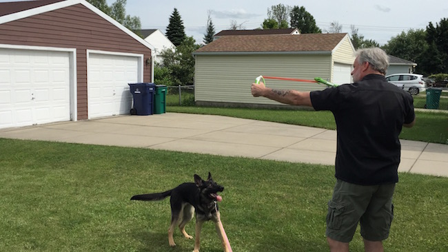 Dogs love to fetch, it's just part of their natural instinct, so why not give them something fun to fetch? Like the Chuckit! Ultra Sling and Ultra Dart!