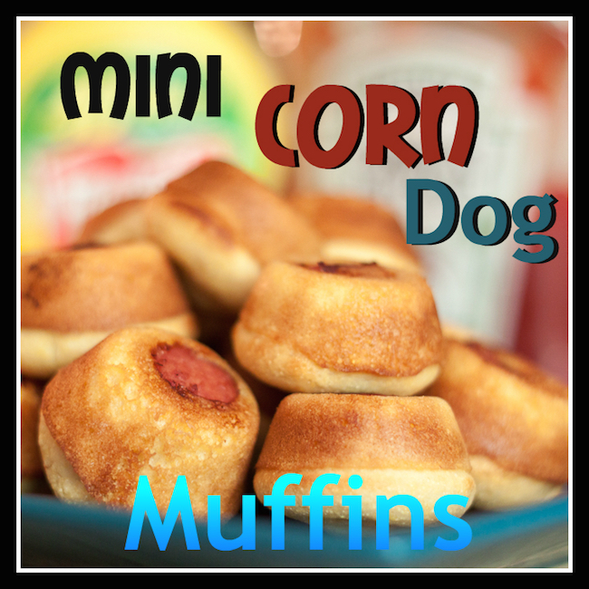 Welcome to our 12 Days of Back to School Recipes. Today we our sharing a different type of school lunch...Mini Corn Dog Muffins! They will be a hit!