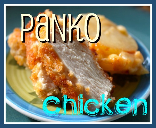 Delicious, golden brown breaded panko chicken breasts are a perfect weeknight meal that is good enough for company, but easy enough for anyone.