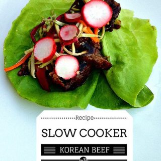Welcome to Day 3 of 12 Days of Slow Cooker Recipes! Today we are sharing a Korean BBQ Beef Recipe with you that you will want to make more than once.