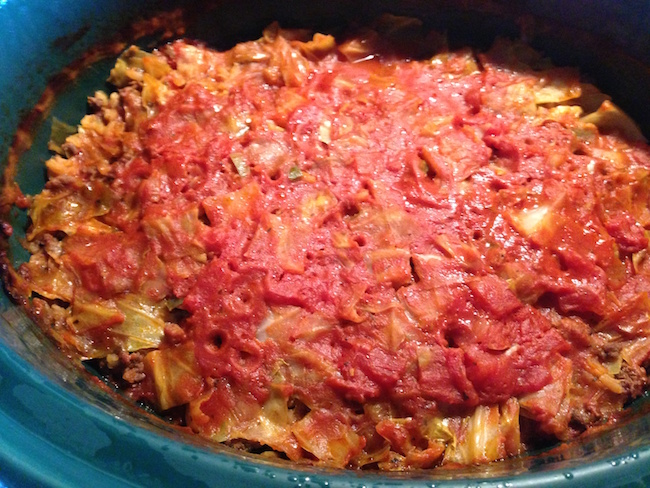 Welcome to Day 6 of our 12 Days of Slow Cooker Meals. Today we are sharing the recipe for Lazy Cabbage Rolls aka Golombki (if you're polish).