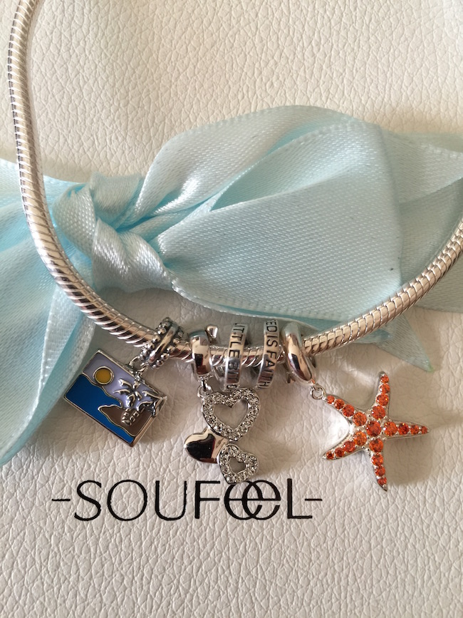 Ever since I was young I have always loved charm bracelets. Charm bracelets have come a long way. You can get a charm for every reason from Soufeel Jewelry.