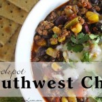 Slow Cooker Southwest Chili Day 10 #12DaysOf