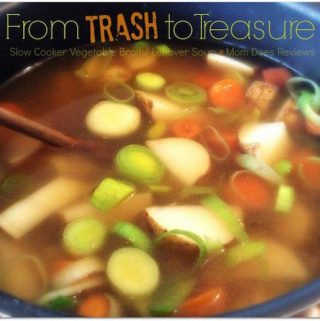 Welcome to day 4 of our 12 days of slow cooker recipes. Today we have Trash to Treasure Soup. It sounds like something you make with leftovers.