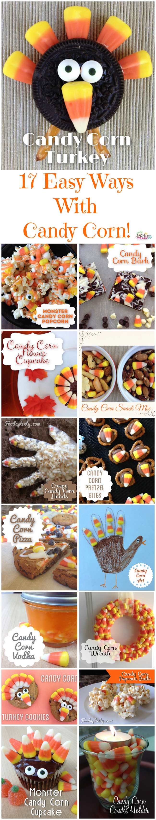 17 candy corn ideas from recipes to decorations