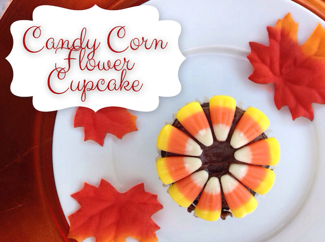 Candy corn flower idea