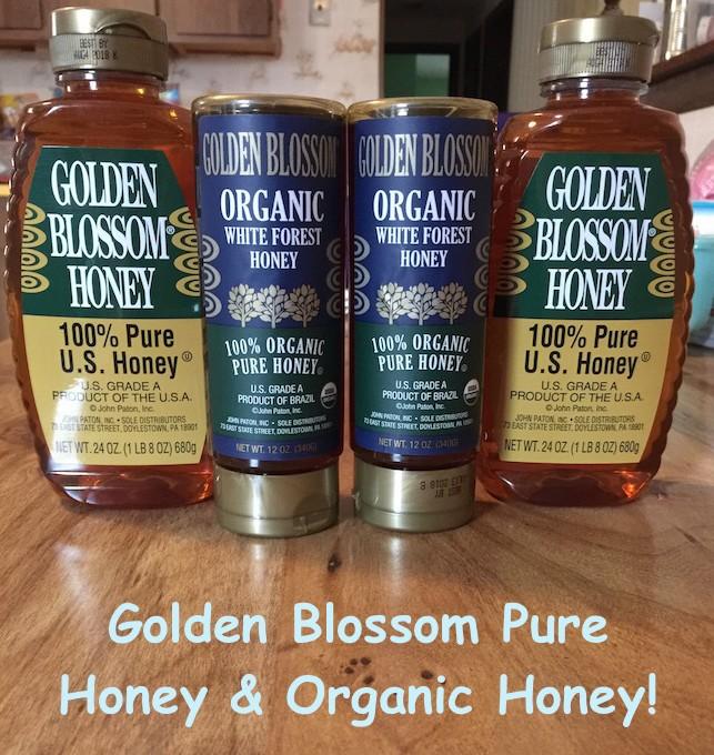 100% pure honey from Golden Blossom