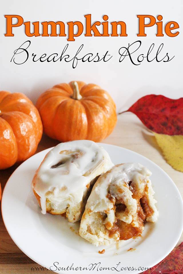 Welcome to the last day of 12 Days of Thanksgiving! We've had a blast sharing all of these holiday posts with you. Today's post comes from me Holly at Southern Mom Loves. Thanksgiving will be here before you know it, and what better way to get breakfast out of the way AND whet their appetite for the feast to come than these easy, make-ahead Pumpkin Pie Breakfast Rolls iced with a simple, 4-ingredient icing that will melt in your mouth! You can find the full post for Pumpkin Pie Breakfast Rolls with Easy Icing here, then check out all of the posts in the series below. We'll be linking up all of the posts, so keep an eye out if you missed one!