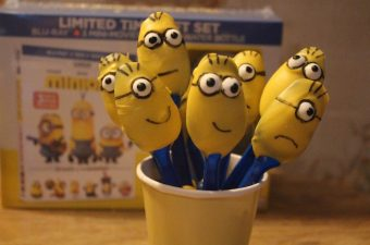 We were really looking forward to the release of the Minions movie on DVD and Blu-Ray release on Dec. 8th.