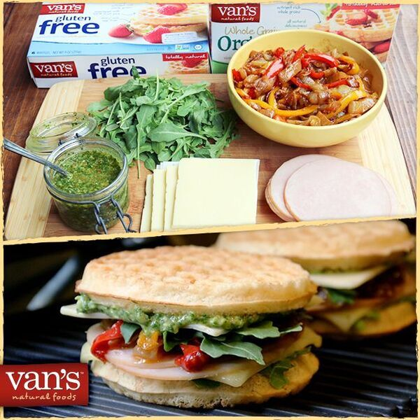 Gluten-Free Chicken-n-Waffles Casserole is made with Van's products and is the leader in frozen, better-for-you waffles.