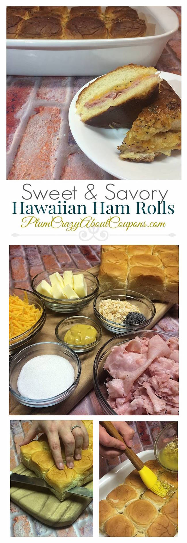 Sweet & Savory Ham Rolls recipe is something easy to make for anytime. We even include Weight Watchers Smart Points, Points Plus & Points.