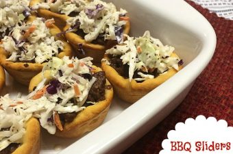 BBQ Sliders with Slaw