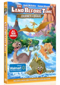 Some of you may have already heard the news but just in case you haven't, THE LAND BEFORE TIME: JOURNEY OF THE BRAVE is coming on DVD on February 2, 2016!