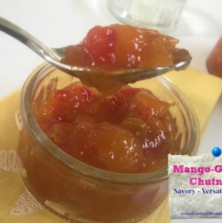 This delicious Ginger Mango Chutney could be added as a sauce to any of your recipes, from vegetables to meat or as al dessert sauce for ice-creams & pies.