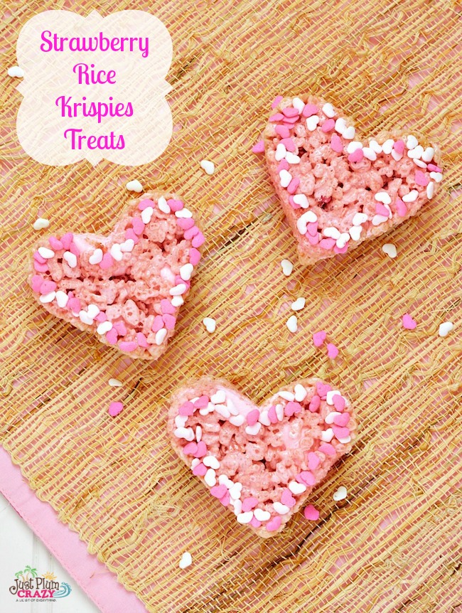 Let's celebrate the love we have for our spouse, significant other, children, parents, etc. and make them Valentine's Strawberry Rice Krispies Treats.