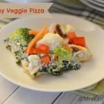 Yummy Veggie Pizza Day 9 #12DaysOf