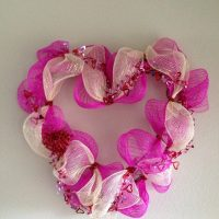 Deco Mesh Wreath - Valentine's Day