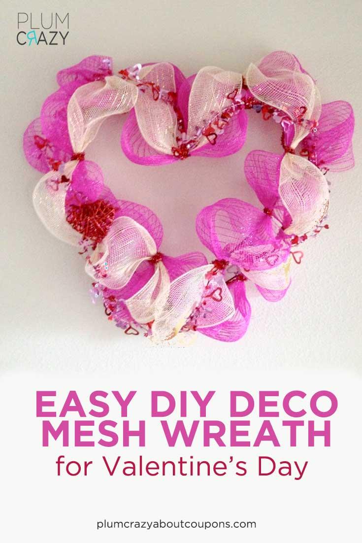 Deco Mesh Wreath Tutorial