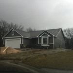 Siding Installed to Painted House! Day 91-150 #HomeBuilding #Kansas