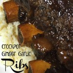 Crockpot Ginger Garlic Ribs Recipe Day 5 #12DaysOf
