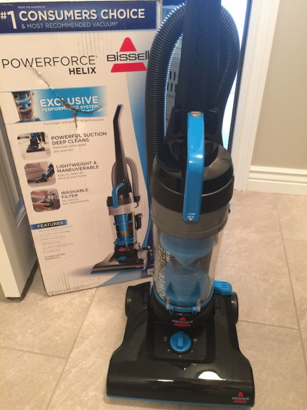 Bissell Powerforce Helix Vacuum Just Plum Crazy
