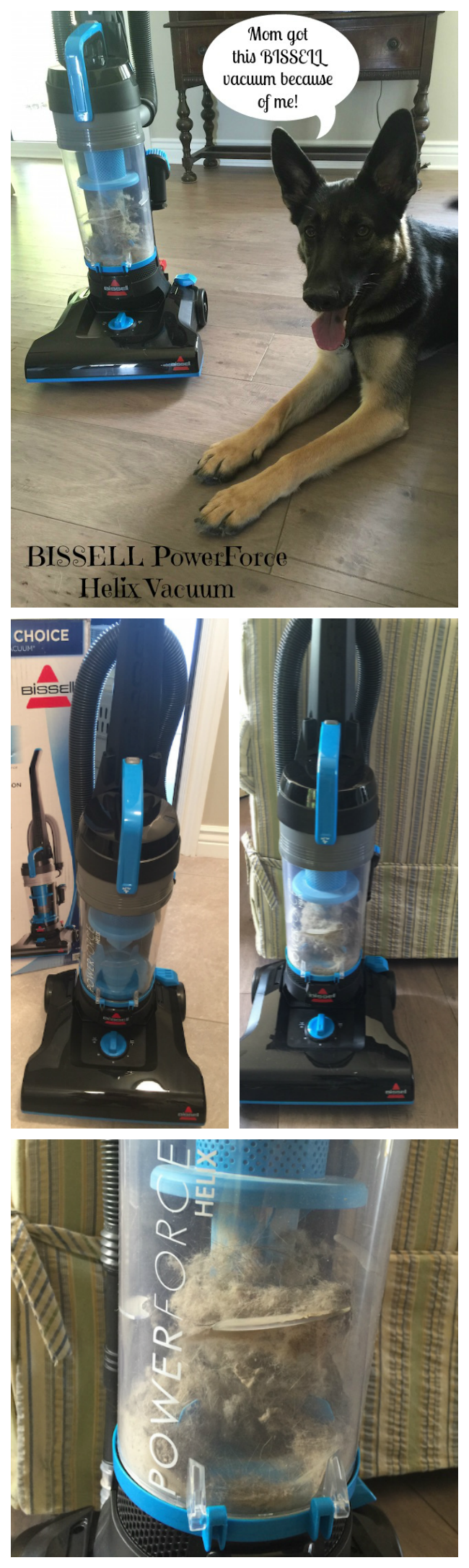 The BISSELL PowerForce Helix vacuum is a great value! It cleans up everyday messes without the high price tag so you're not paying for things you don't use.