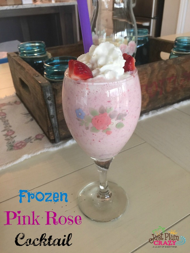 A strawberry cocktail blend of strawberries, pina colada mix, strawberry vodka, coconut rum, ice cream & sweetened milk that satisfies your sweet tooth.