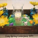 Easy Inexpensive Spring Centerpiece DIY