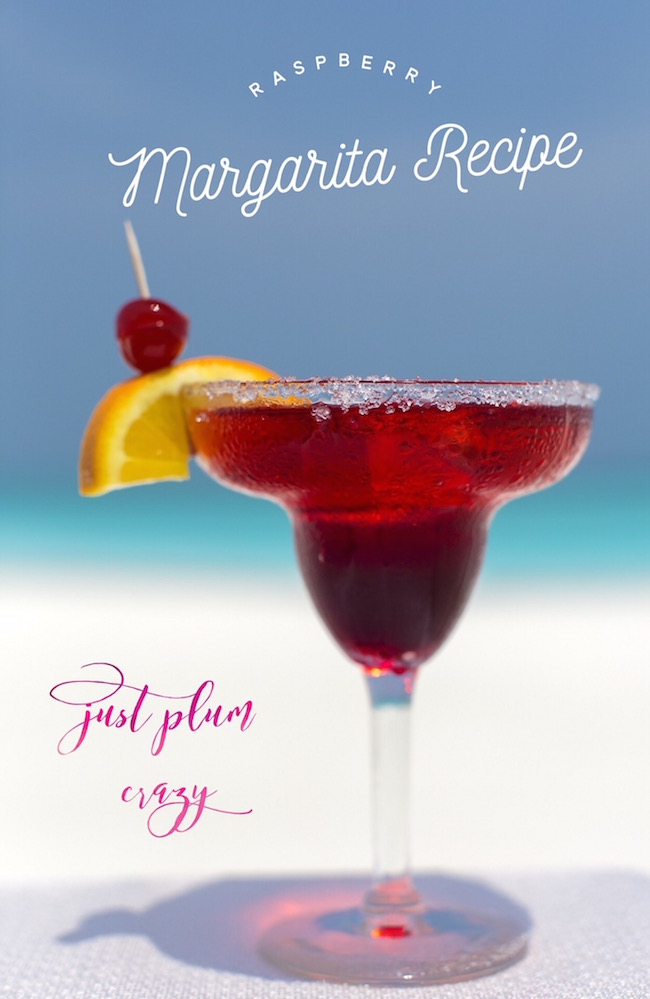 It's Cinco de Mayo and it's time to break out your cocktail shakers and get ready to host those summer BBQs with a Raspberry Margarita Recipe!