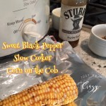 Easy Sweet Black Pepper Slow Cooker Corn on the Cob Recipe! Day 3 #12DaysOf