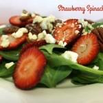 Strawberry Spinach Salad Recipe Day 11 #12DaysOf