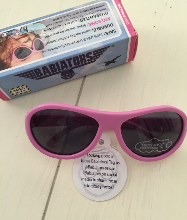 Babiators sunglasses offer UVA & UVB protection & undergo rigorous testing to ensure they're safe for your child – on their face or end up in their mouth.