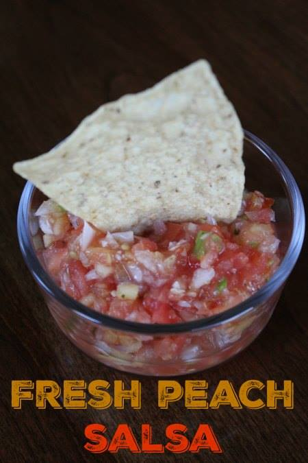 Do you love fresh fruits and vegetables now that summer is here? Do you love using the BBQ and spending time with friends? How about some Fresh Peach Salsa?