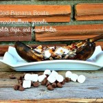 Grilled Banana Boats Recipe Day 1 #12DaysOf