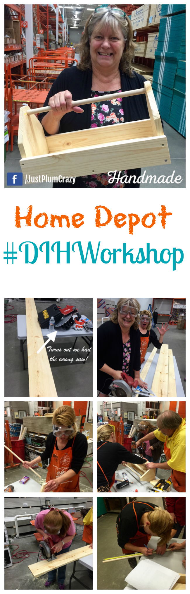 Home Depot Workshop Review Do It Herself Was So Much Fun