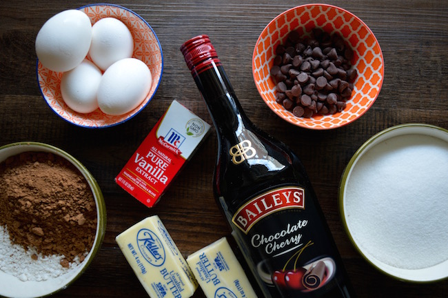 Bailey's Brownie Bites Recipe melts in your mouth and is the perfect addition to any party. Nothing is better than chocolate and cherry together!