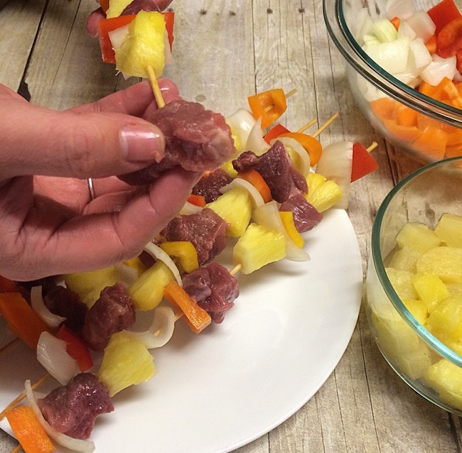 With summer winding down & Labor Day around the corner, there is plenty of time for grilling. The Grilled Ham & Pineapple Kabobs recipe is perfect.
