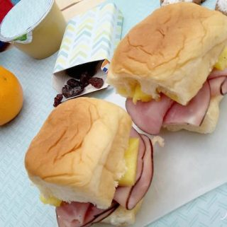 Their ham and pineapple Hawaiian Sliders cannot be any easier AND at just under $2.50 you can have a complete meal for your child any day of the week!