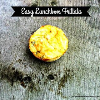 We the solution with her super simple mini frittatas recipe. You can even make a batch ahead of time, freeze them, and then just grab one or two!
