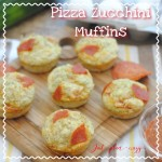 3 Cheese Savory Pizza Zucchini Muffins Recipe Day 11 #12DaysOf