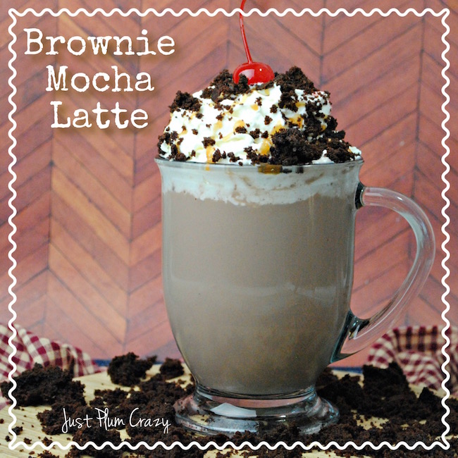 The Brownie Mocha Latte Recipe is perfect for any day but special because today is National Coffee Day! But, it's coffee day everyday for me lol.